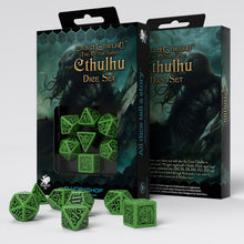 Load image into Gallery viewer, Call of Cthulhu, The Outer Gods - Q-Workshop -  RPG Dice Set, CritKit