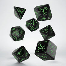 Load image into Gallery viewer, Ingress Enlightened - Q-Workshop -  RPG Dice Set, CritKit
