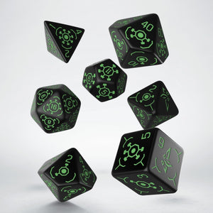 Ingress Enlightened - Q-Workshop -  RPG Dice Set, CritKit