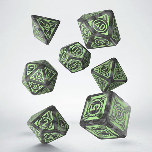 Starfinder Against the Aeon Throne - Q-Workshop -  RPG Dice Set, CritKit