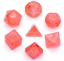 Load image into Gallery viewer, Strawberry Fields -  RPG Dice Set, CritKit