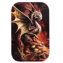 Load image into Gallery viewer, Desert Dragon - Dice Tin -  RPG Dice Set, CritKit