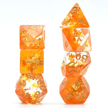 Load image into Gallery viewer, Seasons - Autumn -  RPG Dice Set, CritKit