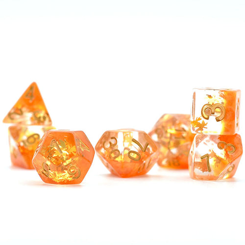 Seasons - Autumn -  RPG Dice Set, CritKit