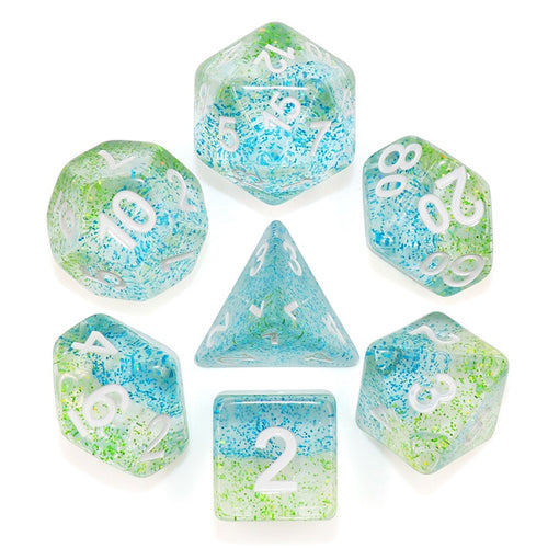 Blue Danube -  RPG Dice Set, CritKit