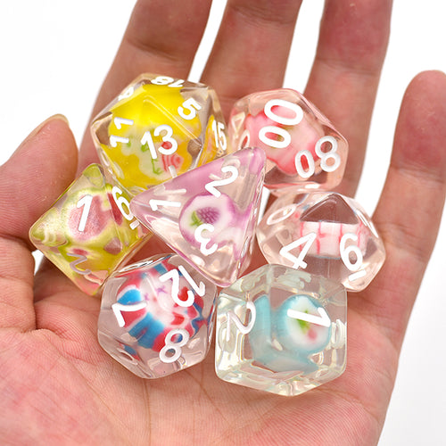 Candy Dice -  RPG Dice Set, CritKit