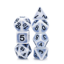 Load image into Gallery viewer, Ancient Cerulean -  RPG Dice Set, CritKit