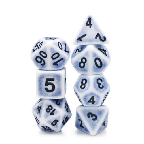 Ancient Cerulean -  RPG Dice Set, CritKit