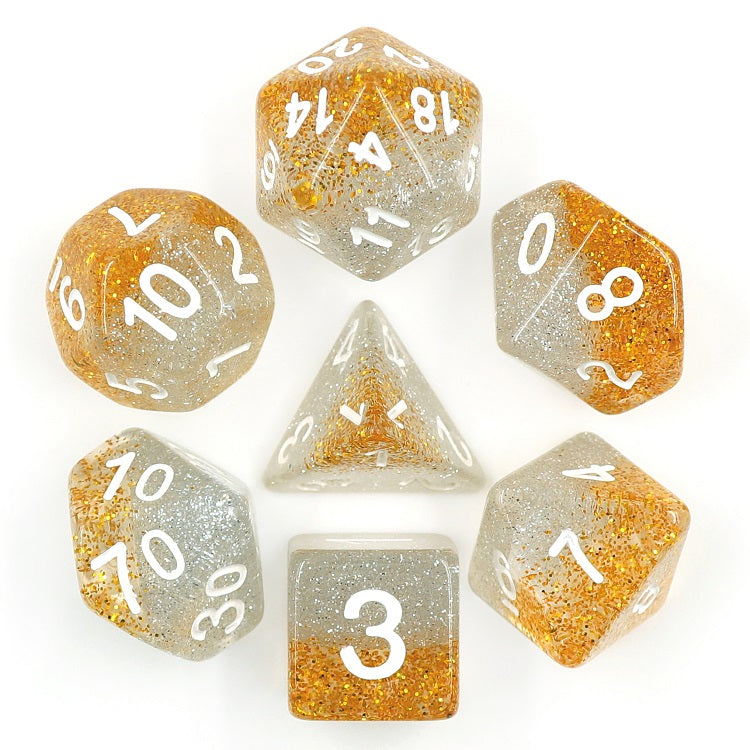 Christmas Strings -  RPG Dice Set, CritKit