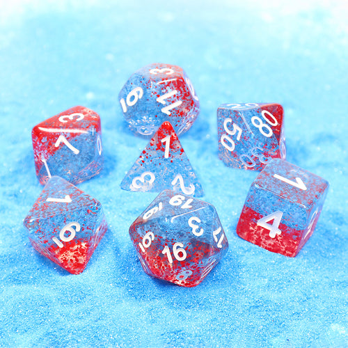 Coral Reef -  RPG Dice Set, CritKit