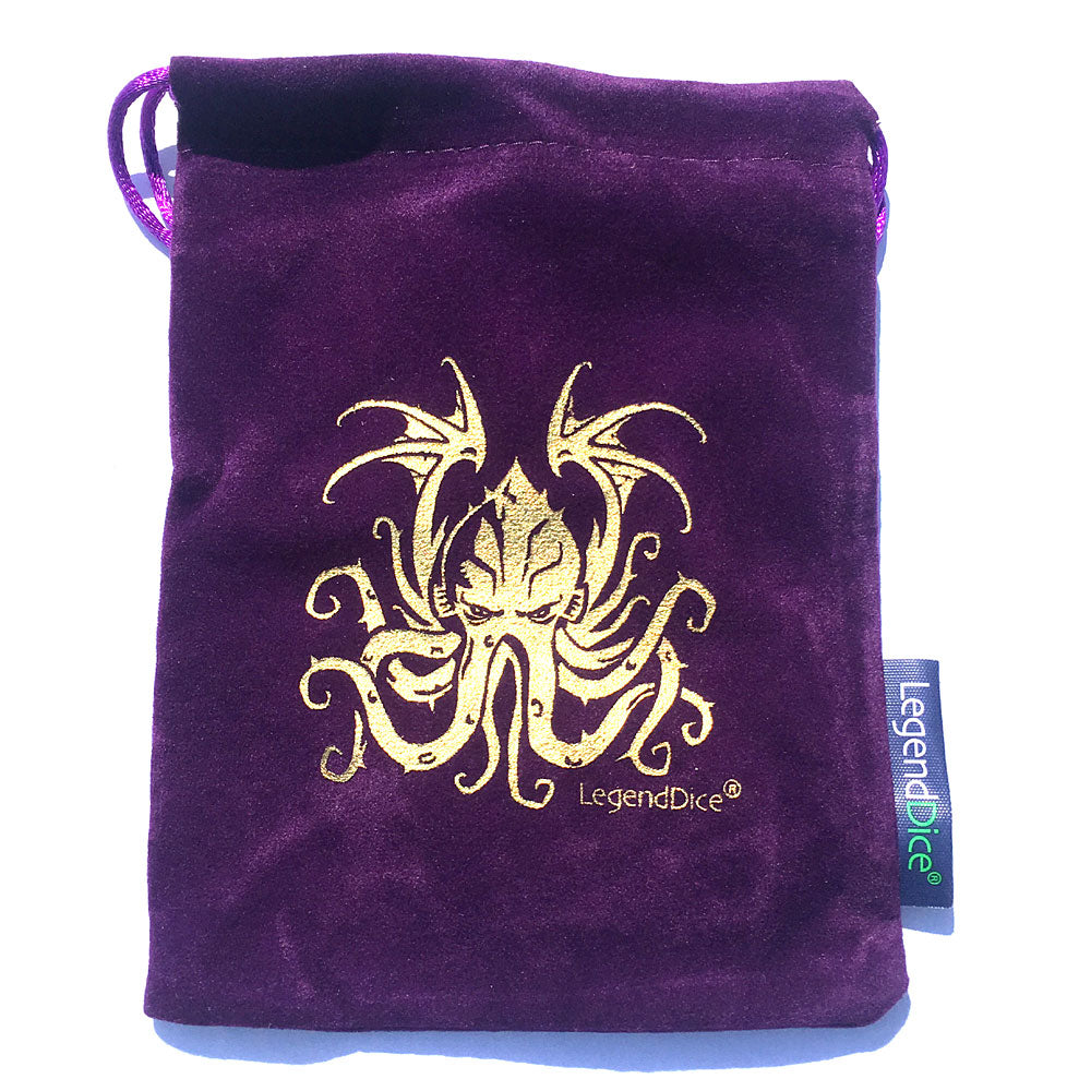 Cthulhu Dice Bags - Critical Kit