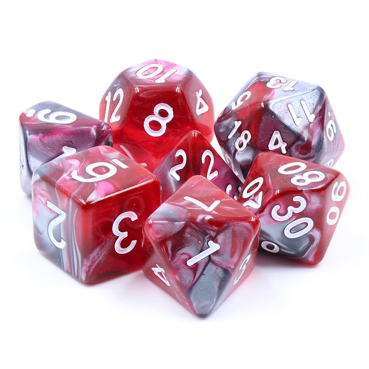 Dragon's Blood -  RPG Dice Set, CritKit