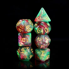 Load image into Gallery viewer, Elf's Dream -  RPG Dice Set, CritKit