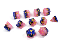Load image into Gallery viewer, Genderfluid Pride - HeartBeatDice -  RPG Dice Set, CritKit
