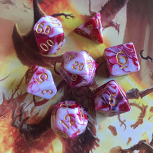 Load image into Gallery viewer, Blood War -  RPG Dice Set, CritKit