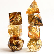 Load image into Gallery viewer, Spirit of The Tiger -  RPG Dice Set, CritKit
