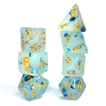 Load image into Gallery viewer, Blue Jelly -  RPG Dice Set, CritKit