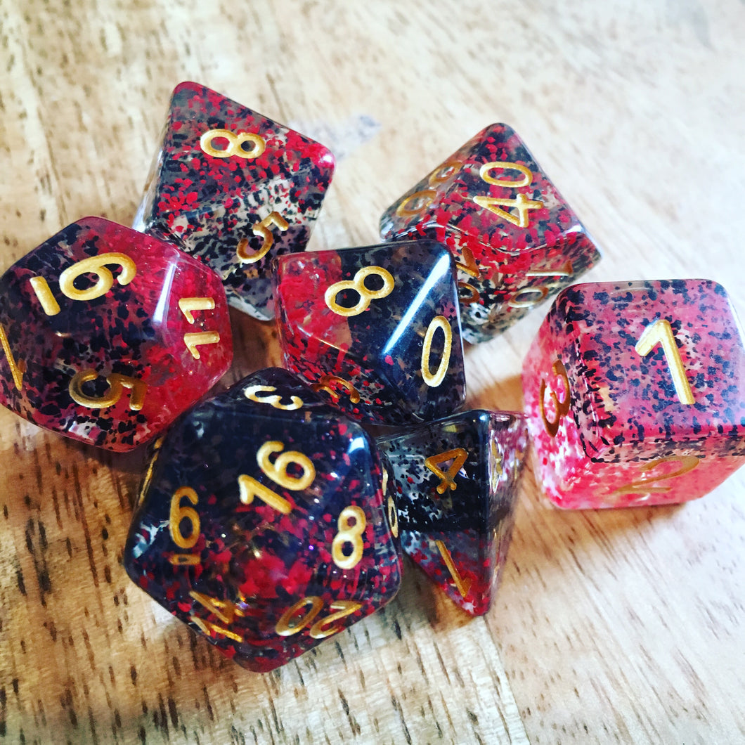 Vampire -  RPG Dice Set, CritKit
