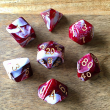 Load image into Gallery viewer, Midnight Coven (Blood) -  RPG Dice Set, CritKit