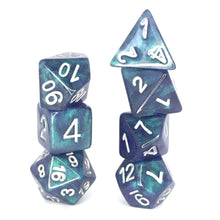 Load image into Gallery viewer, Northern Lights -  RPG Dice Set, CritKit