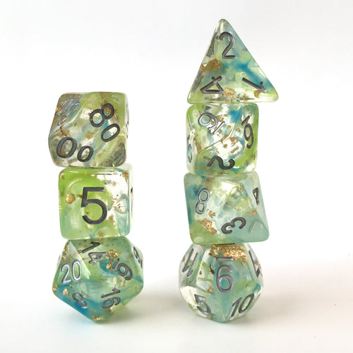 Margarita Lux -  RPG Dice Set, CritKit
