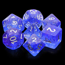 Load image into Gallery viewer, Blue Veil -  RPG Dice Set, CritKit