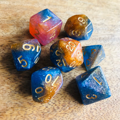 Dawn Patrol -  RPG Dice Set, CritKit