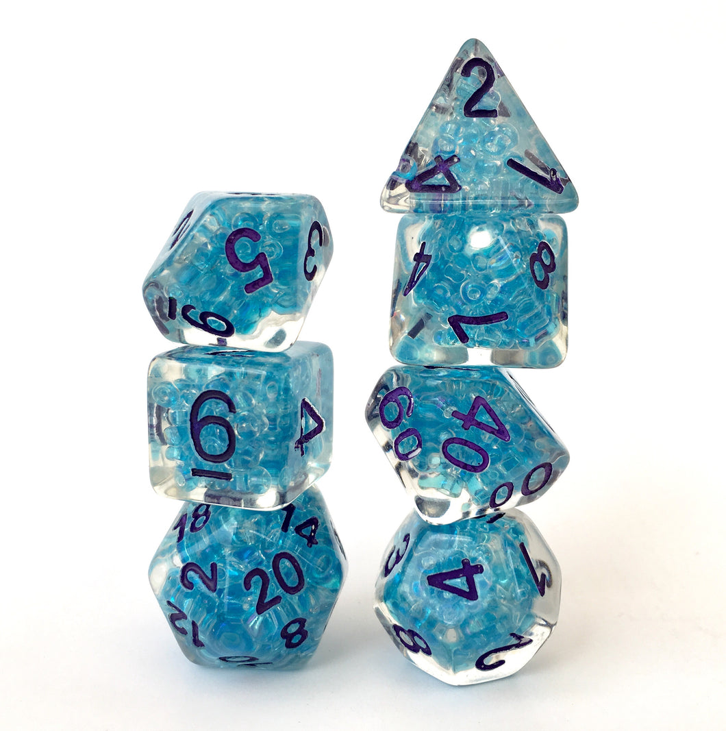 Water Weird -  RPG Dice Set, CritKit