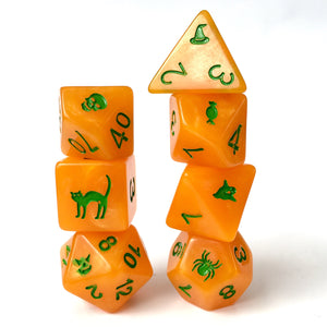 🎃 Spirit of Halloween 🎃 -  RPG Dice Set, CritKit