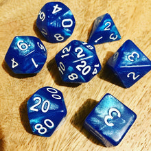 Load image into Gallery viewer, River Sprite -  RPG Dice Set, CritKit