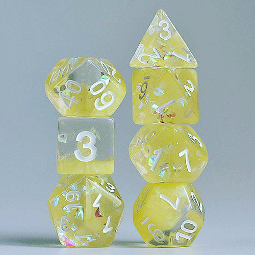 Lemon Jelly -  RPG Dice Set, CritKit