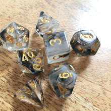 Load image into Gallery viewer, Spirit of The Raven -  RPG Dice Set, CritKit
