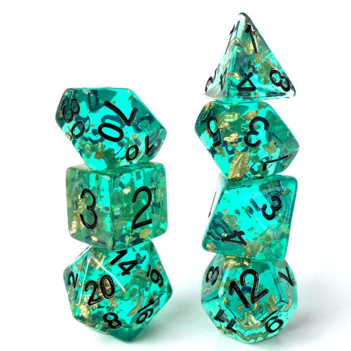 Dragon Turtle -  RPG Dice Set, CritKit