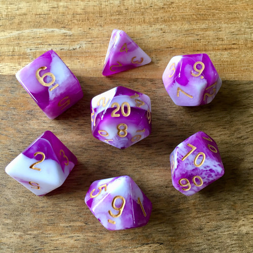 Midnight Coven (Lair) -  RPG Dice Set, CritKit