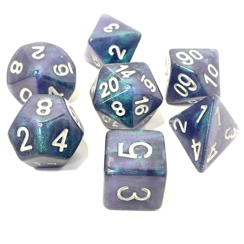 Northern Lights -  RPG Dice Set, CritKit