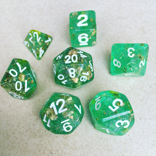 Fields of Gold -  RPG Dice Set, CritKit