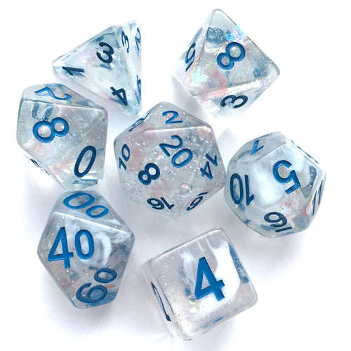 Blue Notes -  RPG Dice Set, CritKit