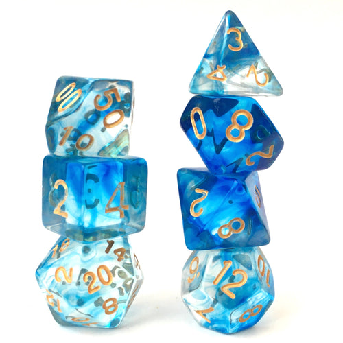Under The Sea -  RPG Dice Set, CritKit
