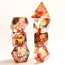 Load image into Gallery viewer, Spirit of The Hawk -  RPG Dice Set, CritKit