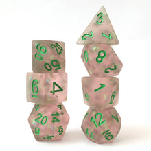 Load image into Gallery viewer, Firefly Pink -  RPG Dice Set, CritKit