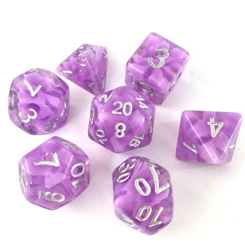 Purple Haze -  RPG Dice Set, CritKit