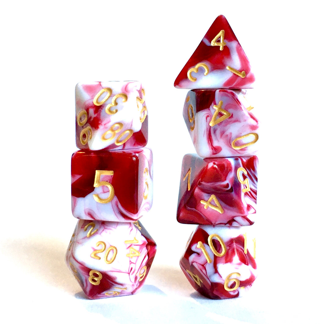 Blood War -  RPG Dice Set, CritKit