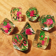 Load image into Gallery viewer, Rose Garden -  RPG Dice Set, CritKit