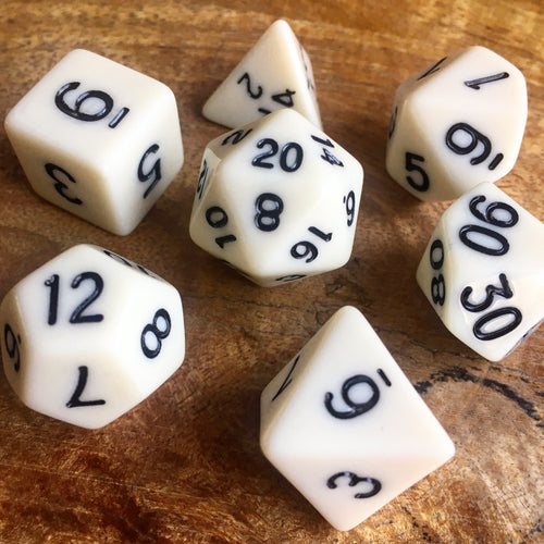 Bones Collector -  RPG Dice Set, CritKit