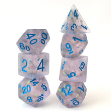 Load image into Gallery viewer, Firefly Blue -  RPG Dice Set, CritKit