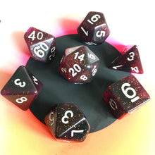Load image into Gallery viewer, Dark Matter -  RPG Dice Set, CritKit