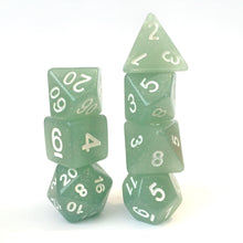 Load image into Gallery viewer, Pale Jade -  RPG Dice Set, CritKit