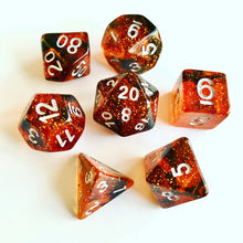 Load image into Gallery viewer, Fire Walk -  RPG Dice Set, CritKit