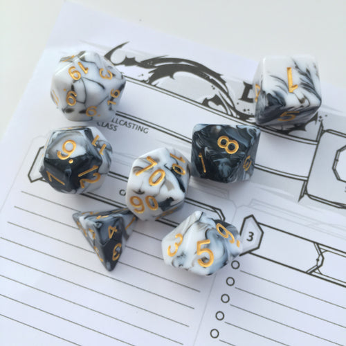 Tomb of Drathaar -  RPG Dice Set, CritKit