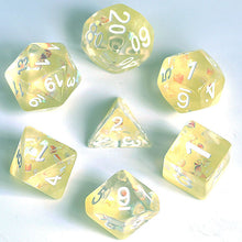 Load image into Gallery viewer, Lemon Jelly -  RPG Dice Set, CritKit